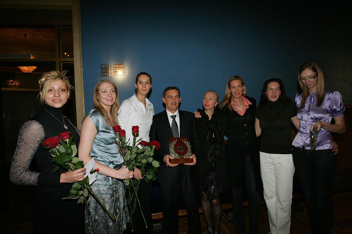 Premio Persona Goda ( allenatore dell'anno di tutti gli sport) Russia 2006